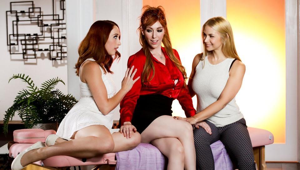 Guy Girl Tranny Threesome